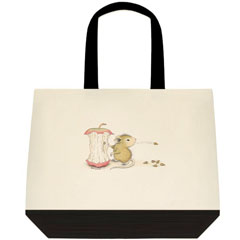 Apple Seeds 2 Tone Tote Bag