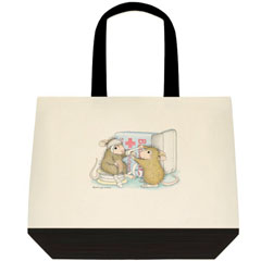 Dr. Amanda Two Tone Tote Bag