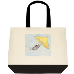 Solo Flight-Two Tone Tote Bag