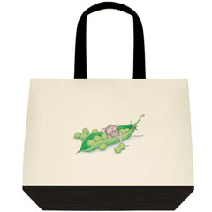 Give PEAS a Chance 2 Tone Tote