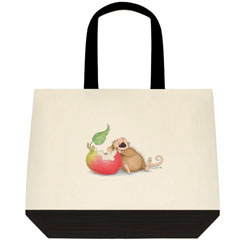 Nature Bites 2 Tone Tote Bag