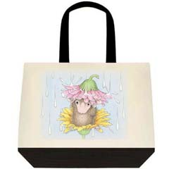 Flower Shower 2 Tone Tote Bag
