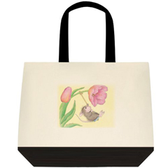 Flower Swing 2 Tone Tote Bag