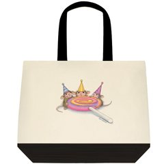 Sweet Birthday 2 Tone Tote Bag