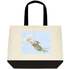 Flower Power  2 Tone Tote Bag