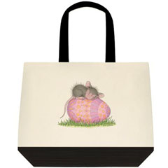 Egghausted-Two-Tone Tote Bag
