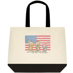 Show Your Colors 2 Tone Tote