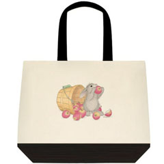 An Apple a day 2 Tone Tote Bag