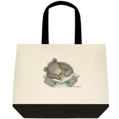 Bedtime Story 2 Tone Tote Bag