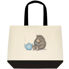 All Warm & Furry Two Tone Tote
