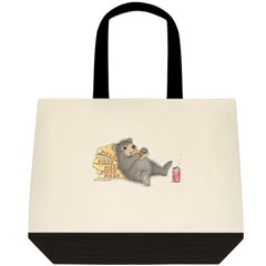 Bear of an App. Two Tone Tote
