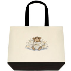 Bear-ied in...Two Tone ToteBag