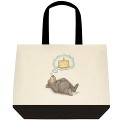 I Dream of Cake Two Tone Tote