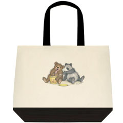 Ice Cream    Two Tone Tote Bag