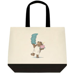 Balancing Act  2 Tone Tote Bag