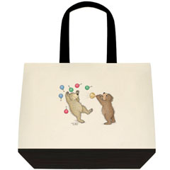 Blow Me Away Two Tone Tote Bag