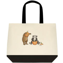 Punkin Head  Two Tone Tote Bag