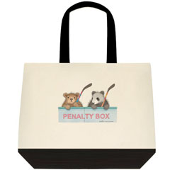 Penalty Box  Two Tone Tote Bag