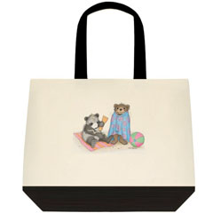 Beach Time.. Two Tone Tote Bag