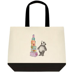 Tower of ... Two Tone Tote Bag