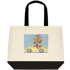 Big Delivery Two Tone Tote Bag