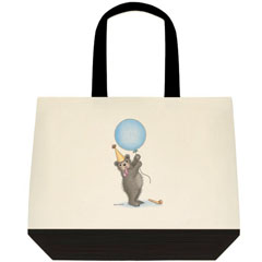 Party        Two Tone Tote Bag